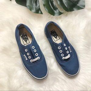 Vans Blue Sneakers Women's size 5